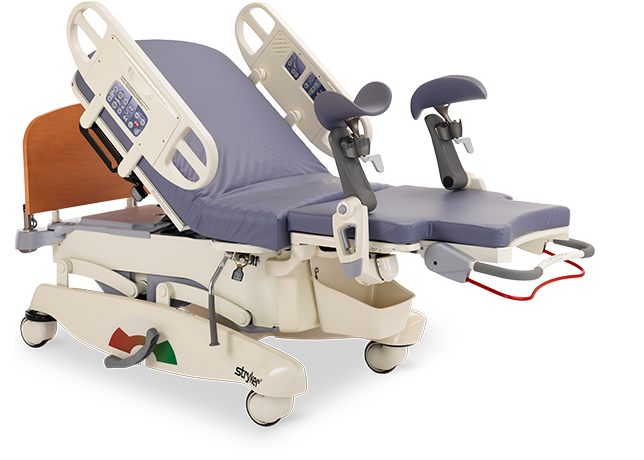 The Stryker LD304 Maternity Birthing Bed