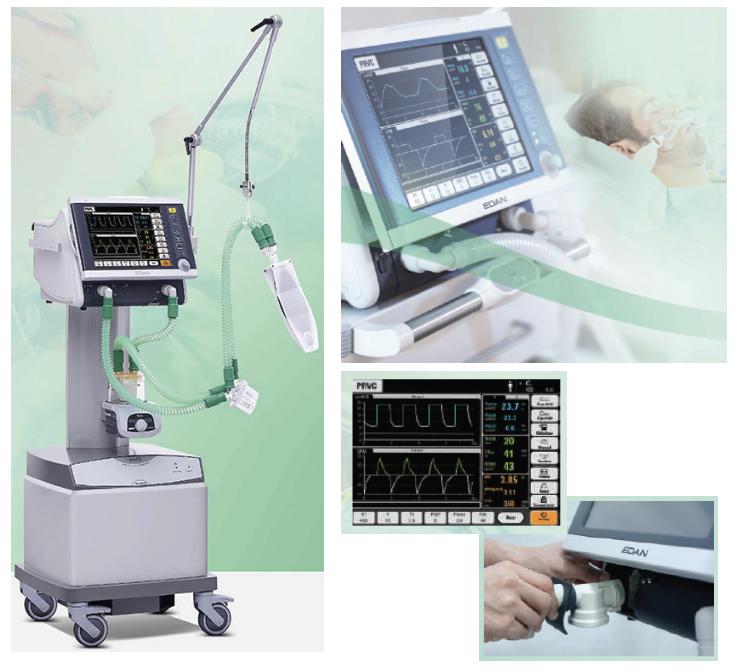 EDAN VT5 ICU Ventilator