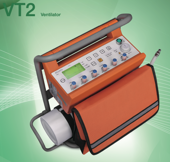 Edan V2 Transport Ventilator (Paeds:Adults)